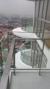 AALTO - SS Glass Railing